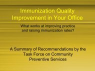 Risk Communication and Immunizations - The INCLEN Trust