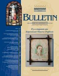 Vol. 38, no 2, automne - Bibliothèque - Assemblée nationale du ...