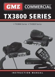 gME TX3800 - Coastal Electronics