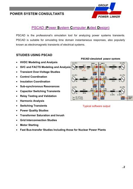 PSCAD (Power System Computer Aided Design)