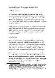 Perspektiven für eine Konfliktregelung im Nahen ... - Genfer Initiative