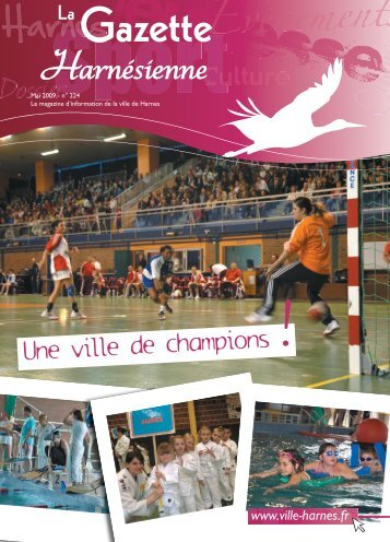 Une ville de champions - Ville de Harnes