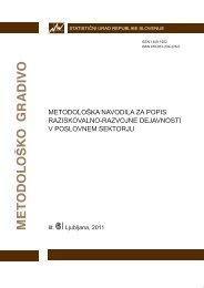 Metodološka navodila za popis raziskovalno razvojne dejavnosti v ...