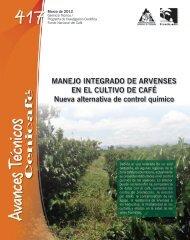 MANEJO INTEGRADO DE ARVENSES EN EL CULTIVO DE CAFÉ ...