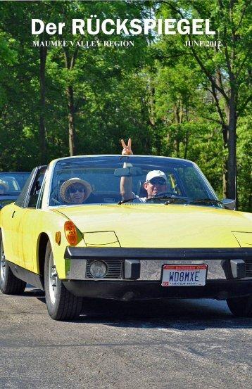 Der RÜCKSPIEGEL - Maumee Valley - Porsche Club of America