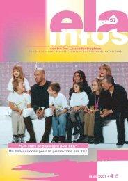 ELA Infos n°57 – mars 2007