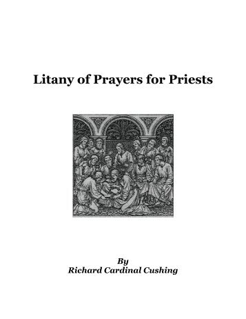 Litany of Prayers for Priests - St. Andrew The Apostle Catholic Church