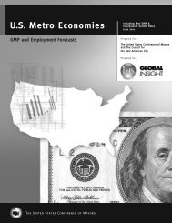 US Metro Economies GMP and Employment Forecasts