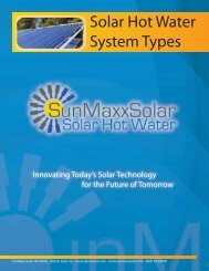 Brochure 02 - solar-hot-water-system-types.indd - SunMaxx Solar