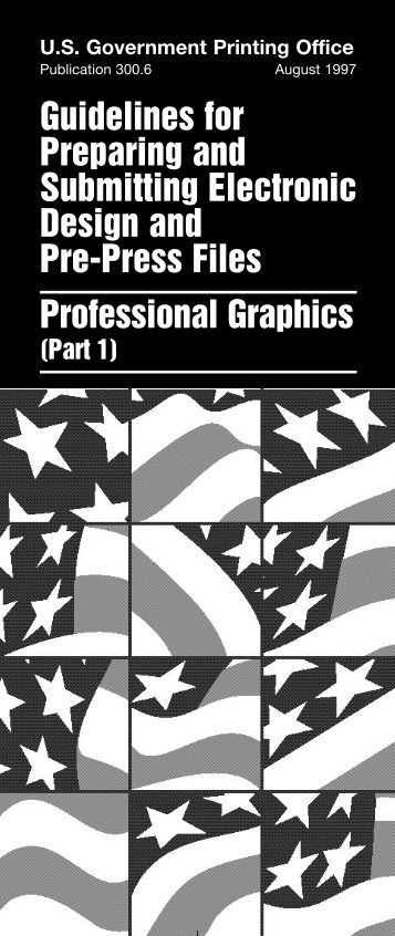 Guidelines for Preparing and Submitting Electronic Design and Pre ...