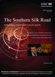The Southern Silk Road-Turbocharging South-South ... - HSBC