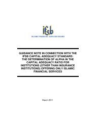 guidance note in connection with the ifsb capital adequacy standard