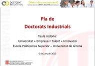 Ponència - Enginyers Industrials de Catalunya