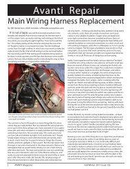 avanti wiring harness article.indd - Studebaker-info.org