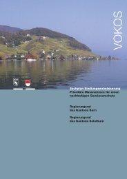 Sachplan Siedlungsentwässerung (VOKOS) - Bau-, Verkehrs ...