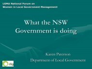 Karen Paterson - Local Government Managers Australia