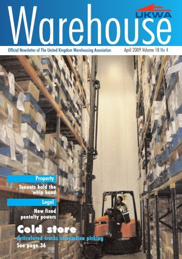 ukwa 2 cover - United Kingdom Warehousing Association