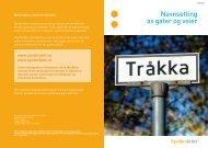 Navnsetting av gater og veier - Språkrådet