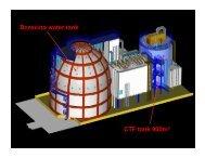 CTF tank 900m3 Borexino water tank