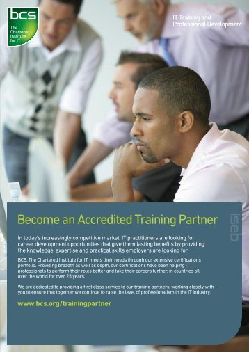 Become an Accredited Training Partner - BCS