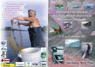 Rencontres Internationales de la Petite Pêche Professionnelle ...