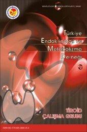 ISBN NO: 978-605-0000-05-4 - Türkiye Endokrinoloji Metabolizma ...