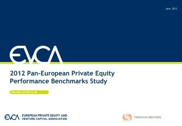 2012 Pan-European Private Equity Performance ... - APCRI