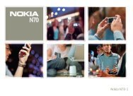Nokia N70 - File Delivery Service - Nokia