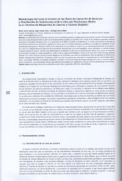 Metodología Aplicada al Estudio de las Áreas de Captación de ...