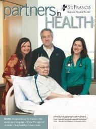 Hospitalists at St. francis (pdf) - St. Francis Regional Medical Center