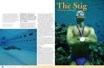 The Stig - X-Ray Magazine