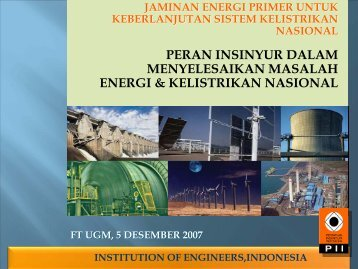 COUNTRY REPORT - Teknik Elektro UGM