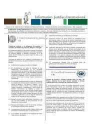 Informativo Jurídico Internacional - Edición No 28 - Marzo de 2012