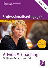 Advies & coaching 2012-2013 - Avs