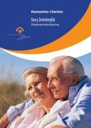 Informatiebrochure Nancy Zeelenbergflat - Stichting Humanitas