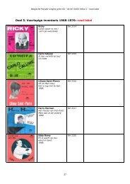 Deel 5. Voorlopige inventaris 1968-1970: rood label - Beatles in ...