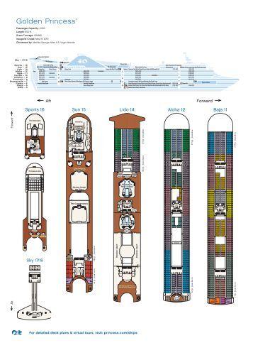 Download deck plans - Expo Cruises & Tours