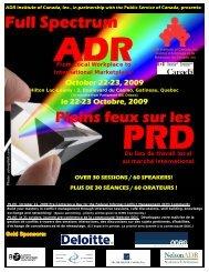 Full Spectrum - ADR Institute of Canada