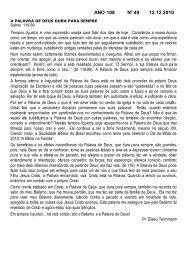 ANO 108 Nº 49 12.12.2010 - Comunidade Evangélica Luterana ...