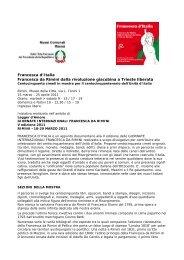 Mostra Francesca d'Italia - Comune di Rimini