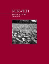 2010-2011 Annual Report - Norwich University