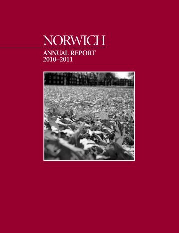 2010-2011 Annual Report - Norwich University
