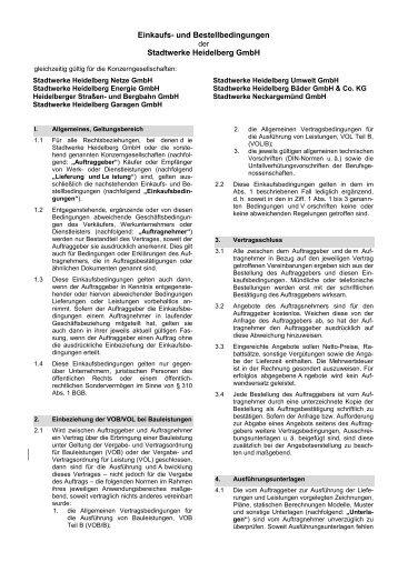 Allgemeine Geschäftsbedingungen Abrechnungsservice und ...