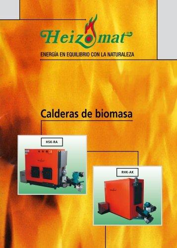 Calderas de biomasa - Heizomat