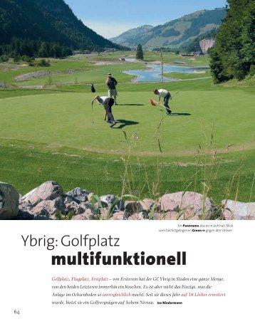 Presse DRI-DS - Golf Club Ybrig