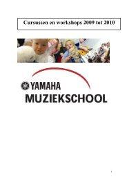 Download Seminarplan Benelux 2009-2010 - Music Schools