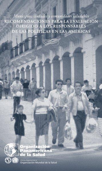 Municipios, ciudades y comunidades saludables - Elige Vivir Sano