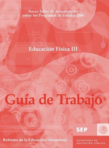 Guía Educación Física III - Sepdf.gob.mx
