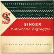 Singer Automatic ZigZagger - ISMACS