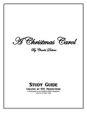 A Christmas Carol Study Guide - CAPA.com